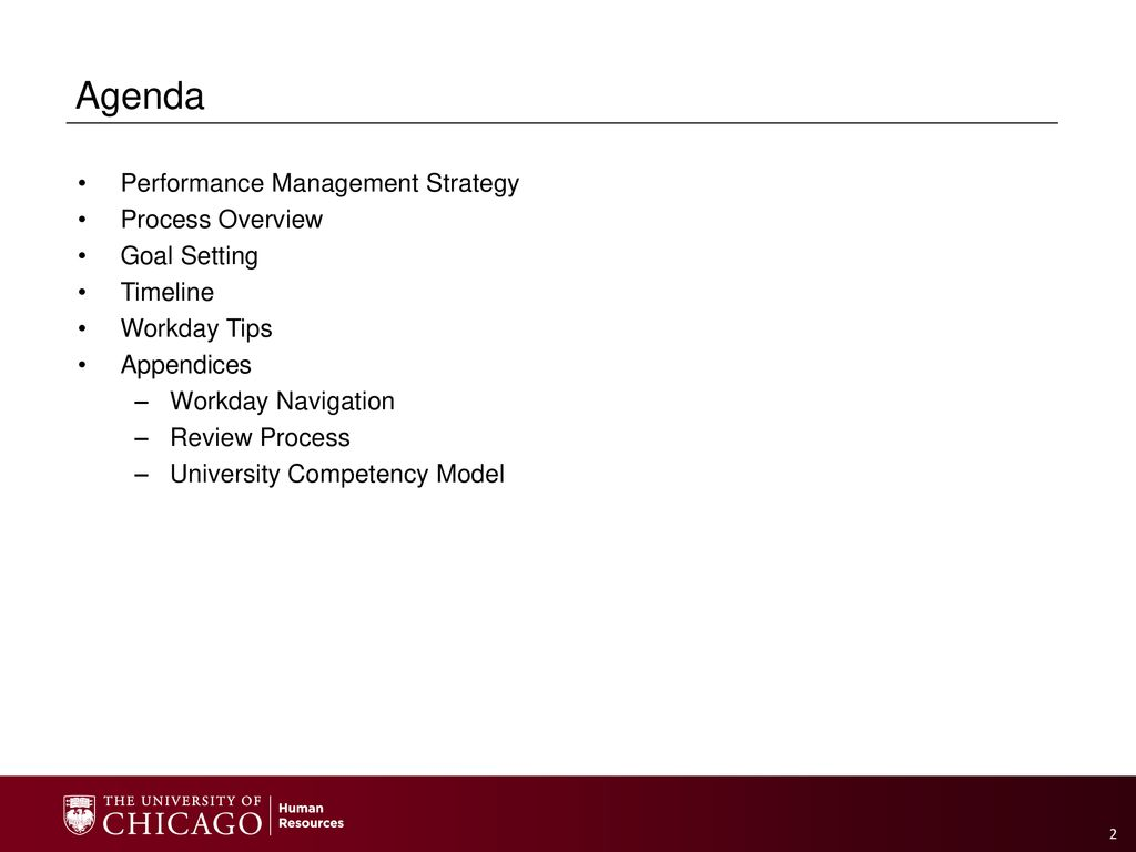 Performance Management Workday Module - ppt download