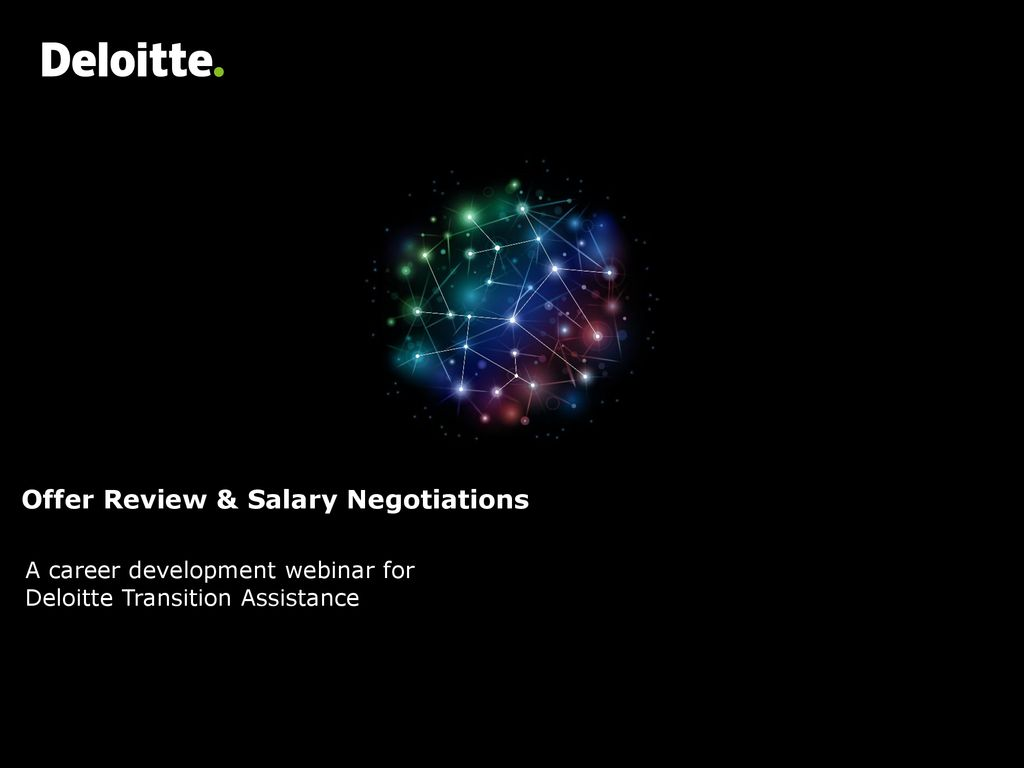 Offer Review & Salary Negotiations - ppt download