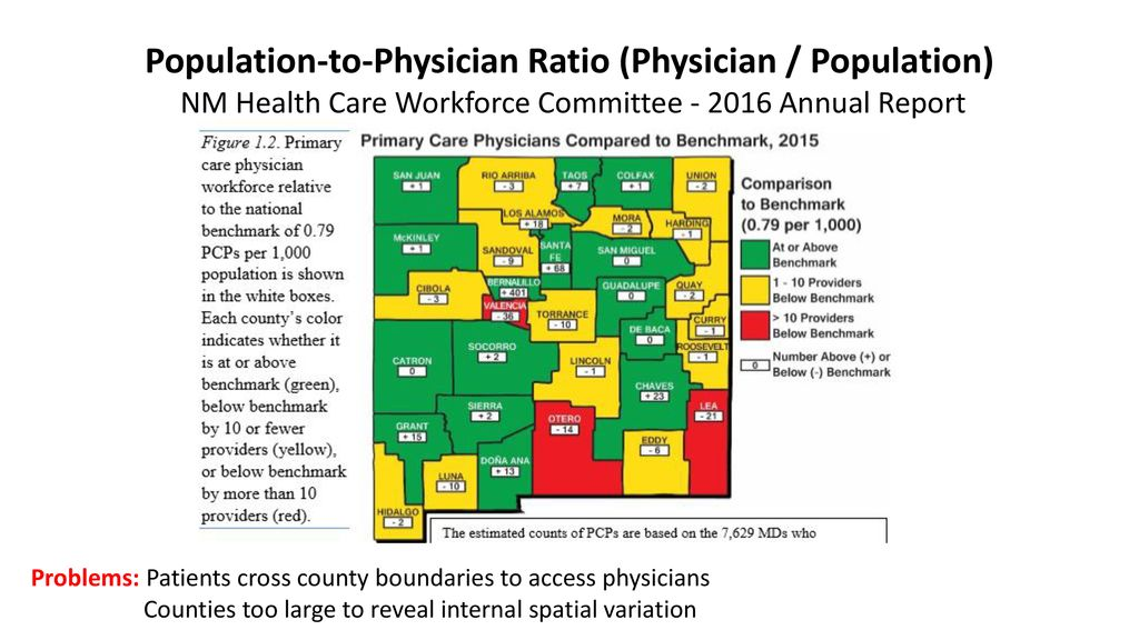 Geographic Access to Primary Care Physicians in New Mexico