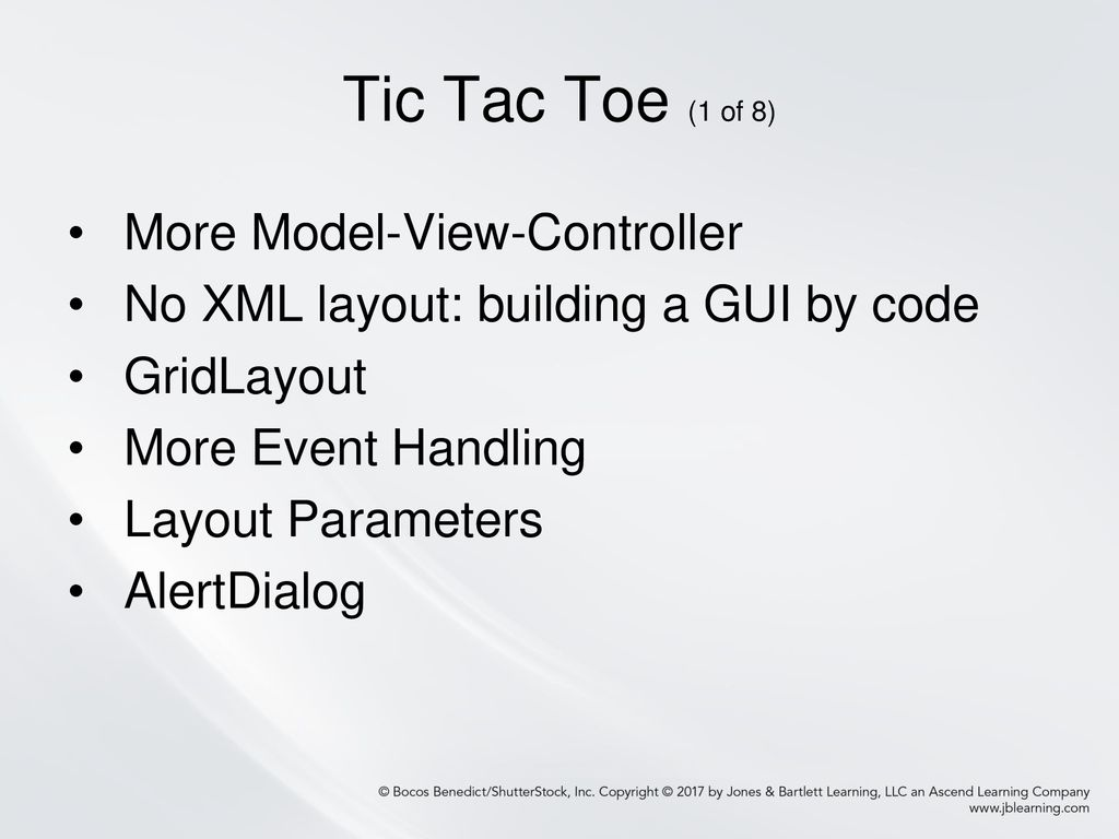 Chapter 3: Coding the GUI Programmatically, Layout Managers