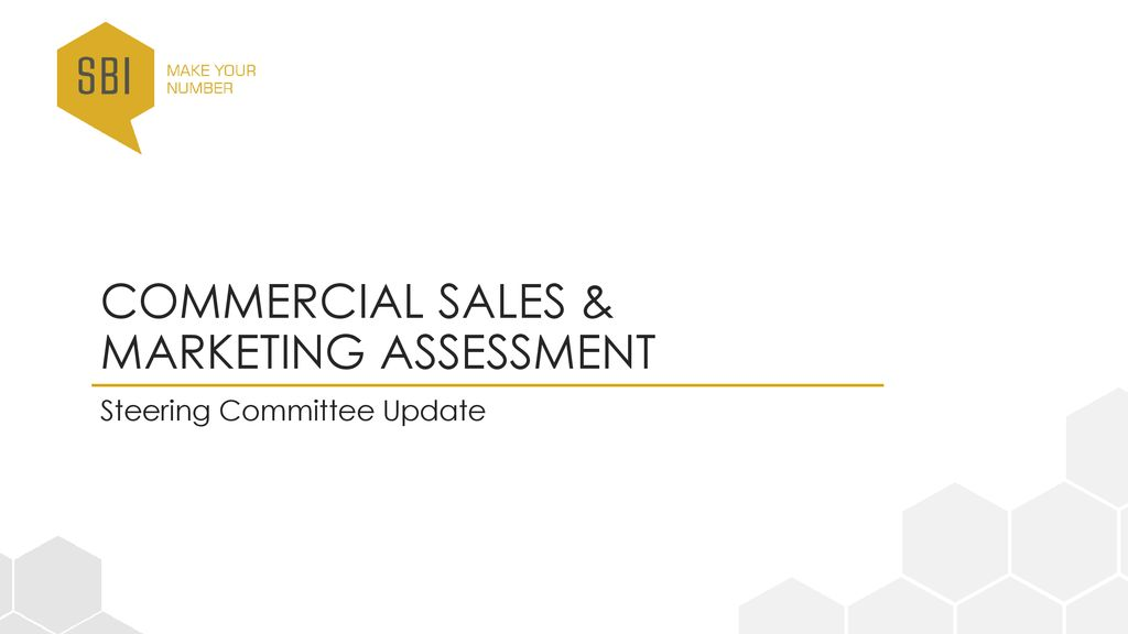 370aac68c2 Commercial Sales   Marketing Assessment - ppt download