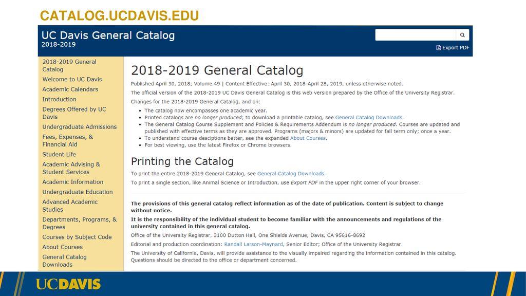 Uc Davis Academic Calendar.Technology Toolbox Ppt Download
