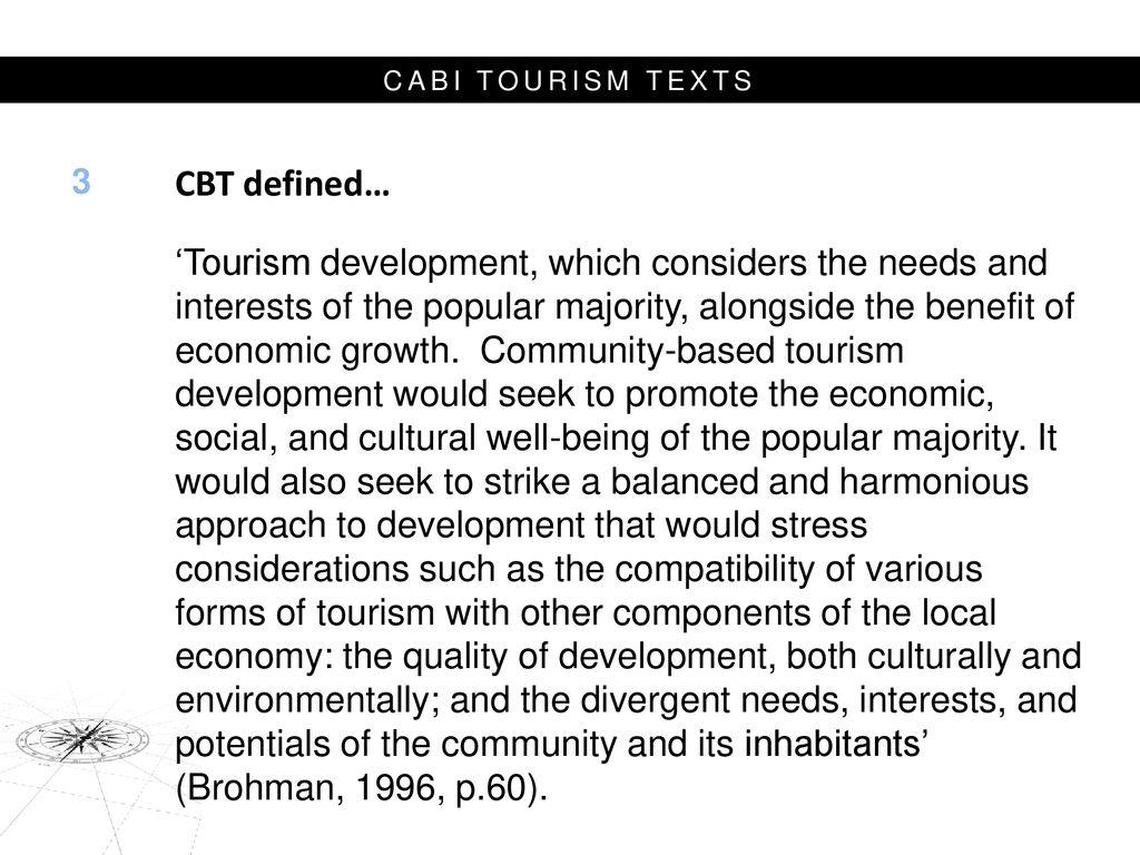 ecotourism principles and practices cabi tourism texts