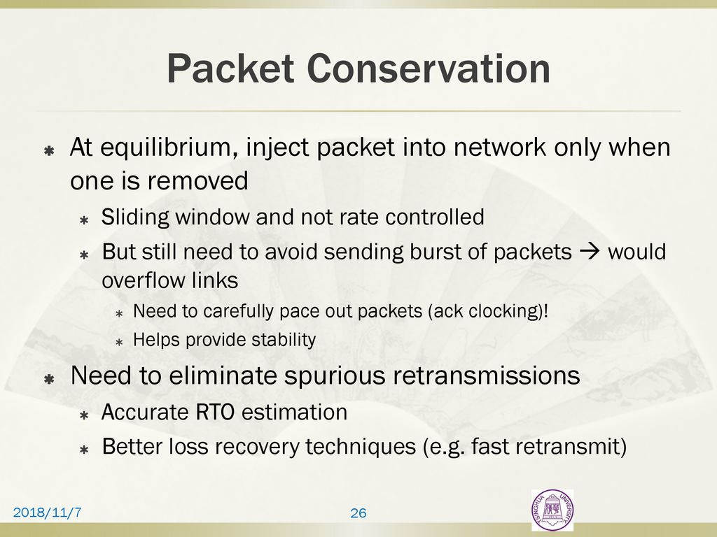 TCP and Congestion Control(2) - ppt download
