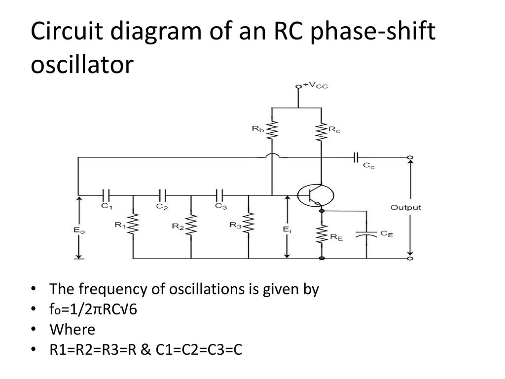 Electronics Devices Circuits Ppt Download Pushpull Oscillator Circuit Oscillatorcircuit Signalprocessing Diagram Of An Rc Phase Shift