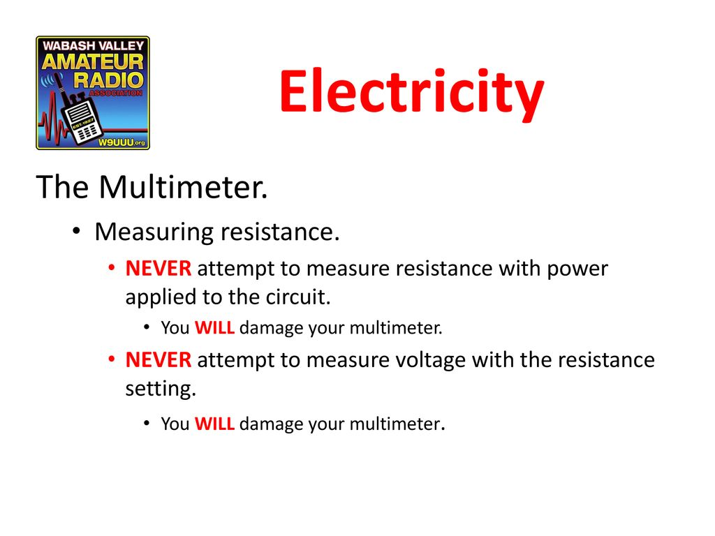 Chapter 3 Electricity Components And Circuits Ppt Download Measuring Resistance In Circuit Out