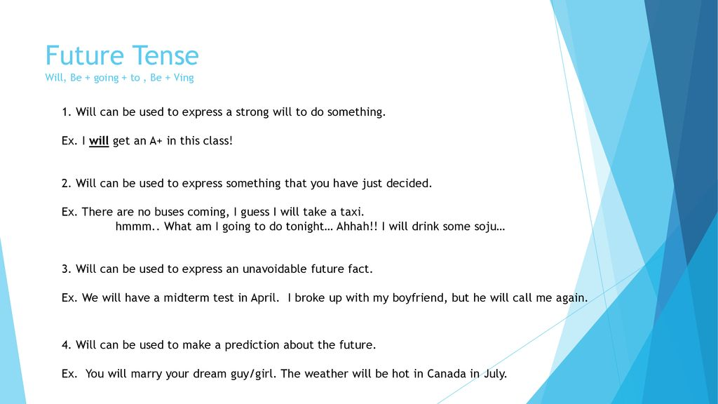 Tenses Review  - ppt download