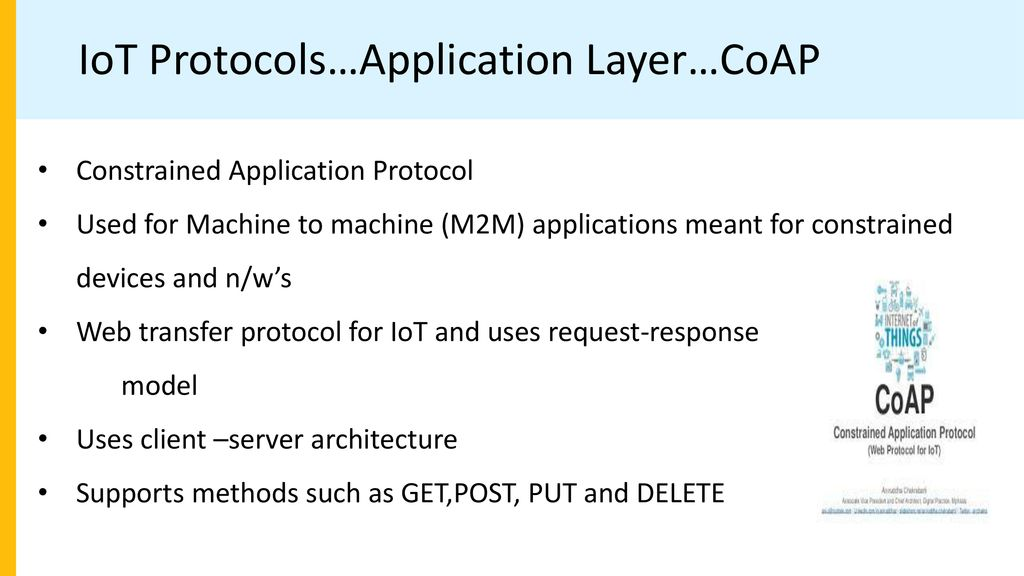 Chapter 1 Introduction to IoT By Kainjan Sanghavi, - ppt