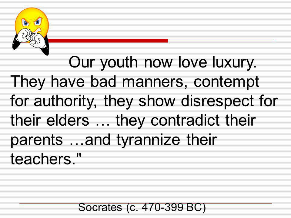 our youth now love luxury