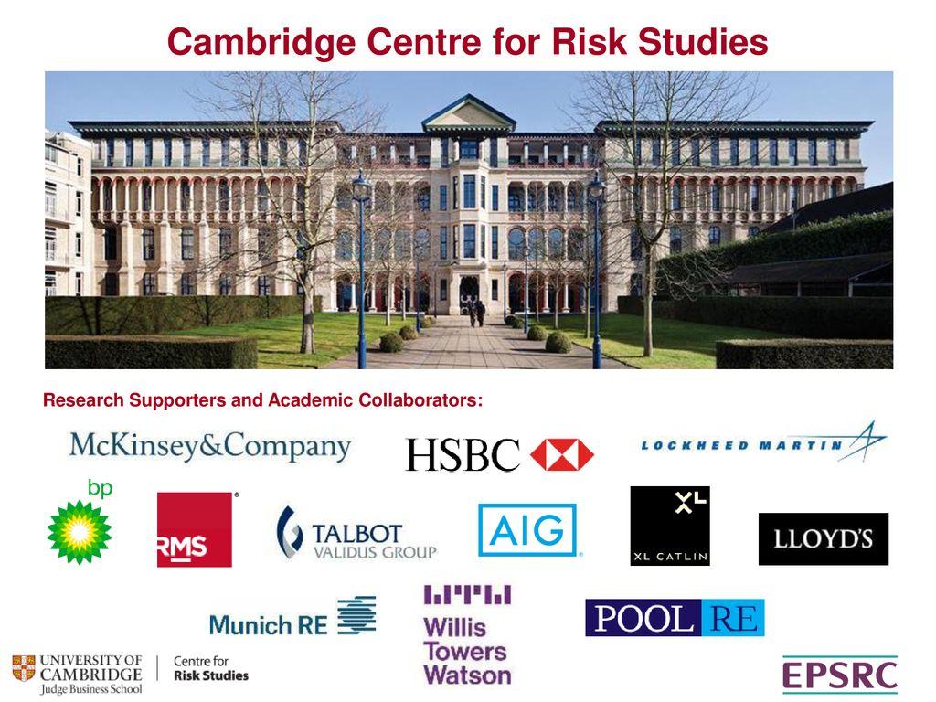 Cambridge Centre for Risk Studies - ppt download