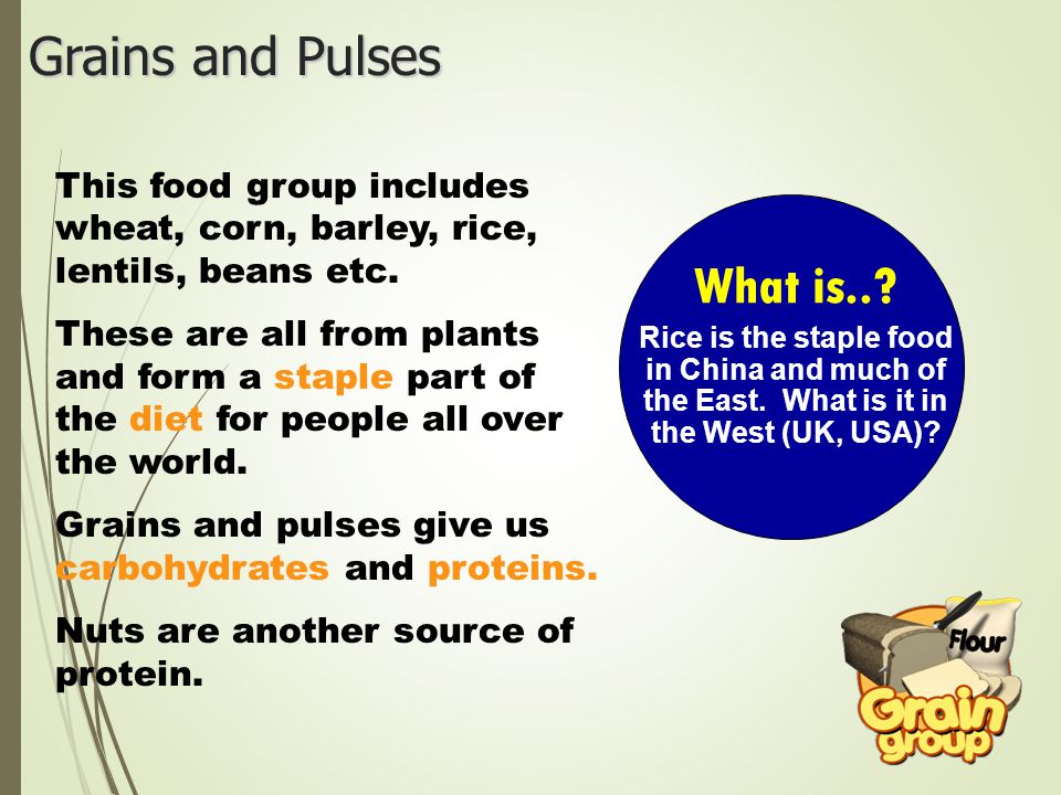 Grains and Pulses What is..