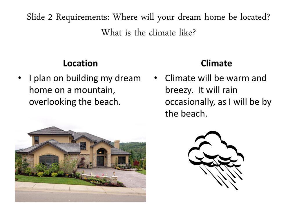 my dream home essay