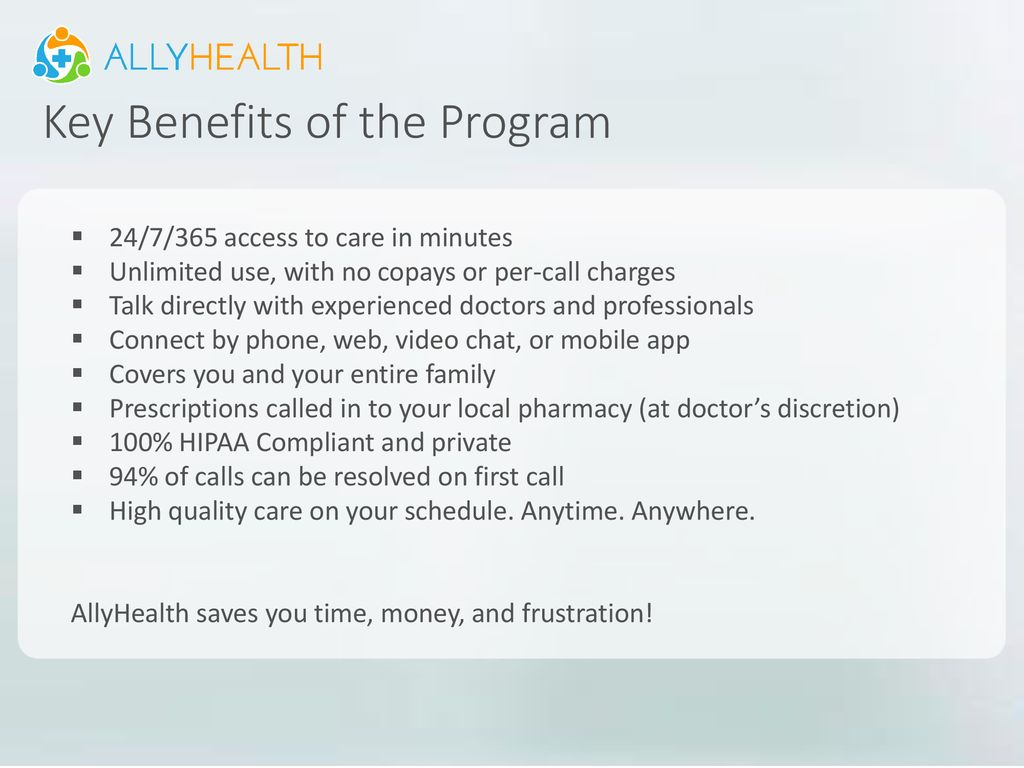 Say hello to your new benefit! - ppt download