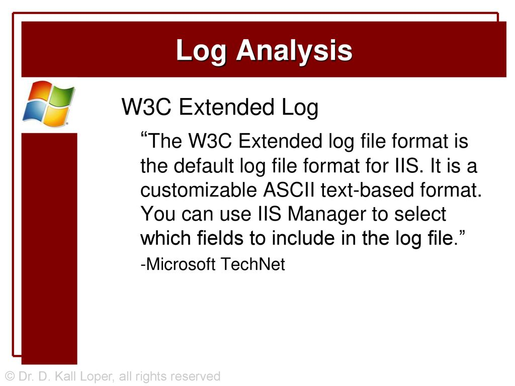 Log Analysis with Web Servers - ppt download