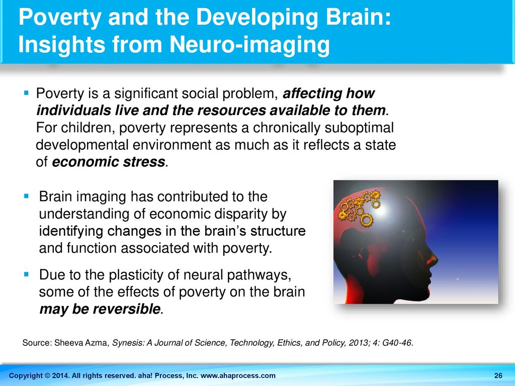 Poverty Linked To Brain Structure In >> Bridges Out Of Poverty Ppt Download