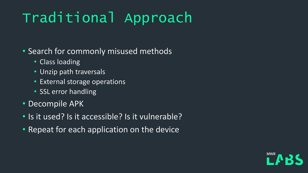 Chainspotting! Building Exploit Chains with Logic Bugs - ppt download