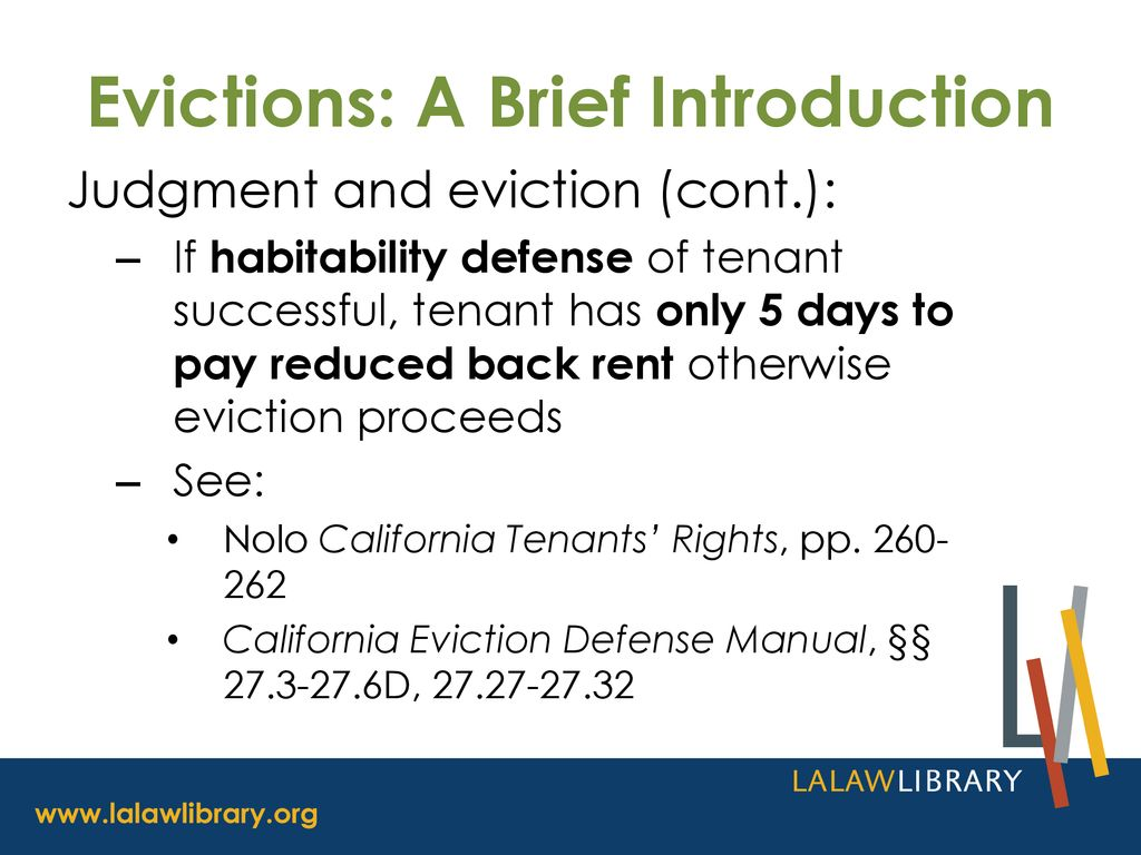 60 Evictions: A Brief Introduction