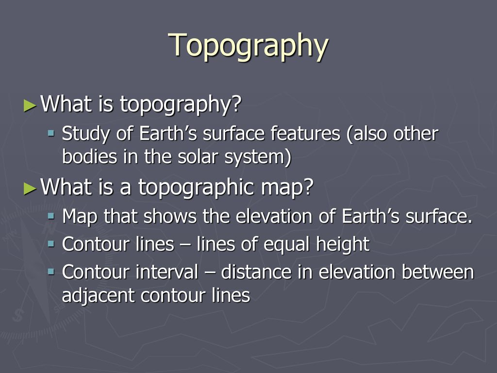 Mapping Earth Science  - ppt download