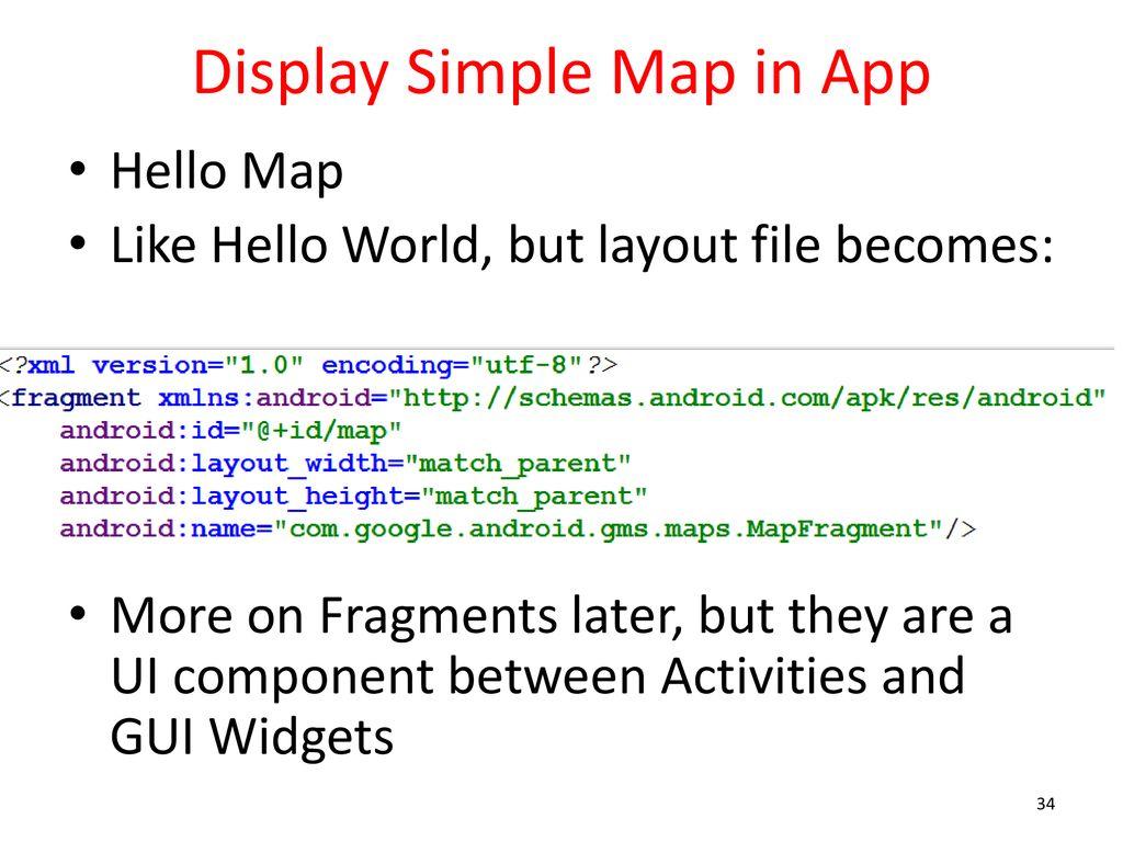 CS371m - Mobile Computing Maps  - ppt download