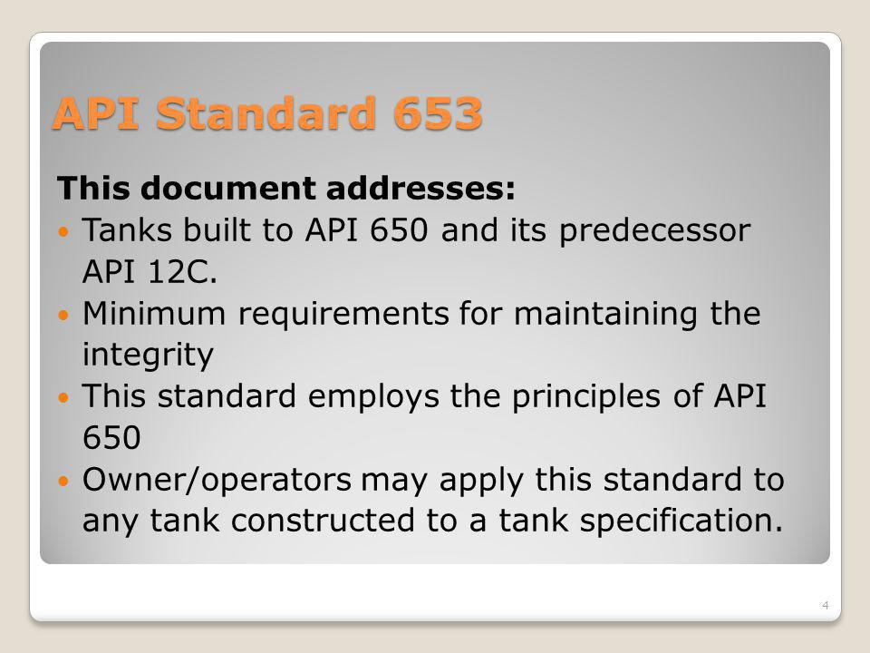 Comparison of EEMUA 159 to API Standards - ppt video online