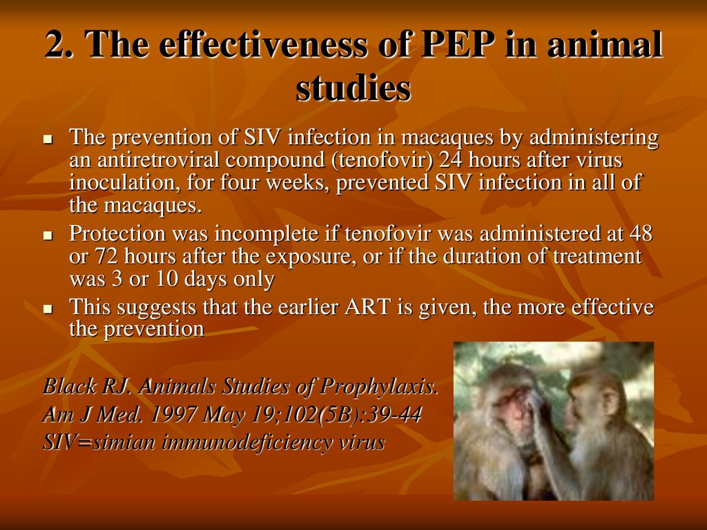 HIV Post-Exposure Prophylaxis after Sexual Contact - ppt download