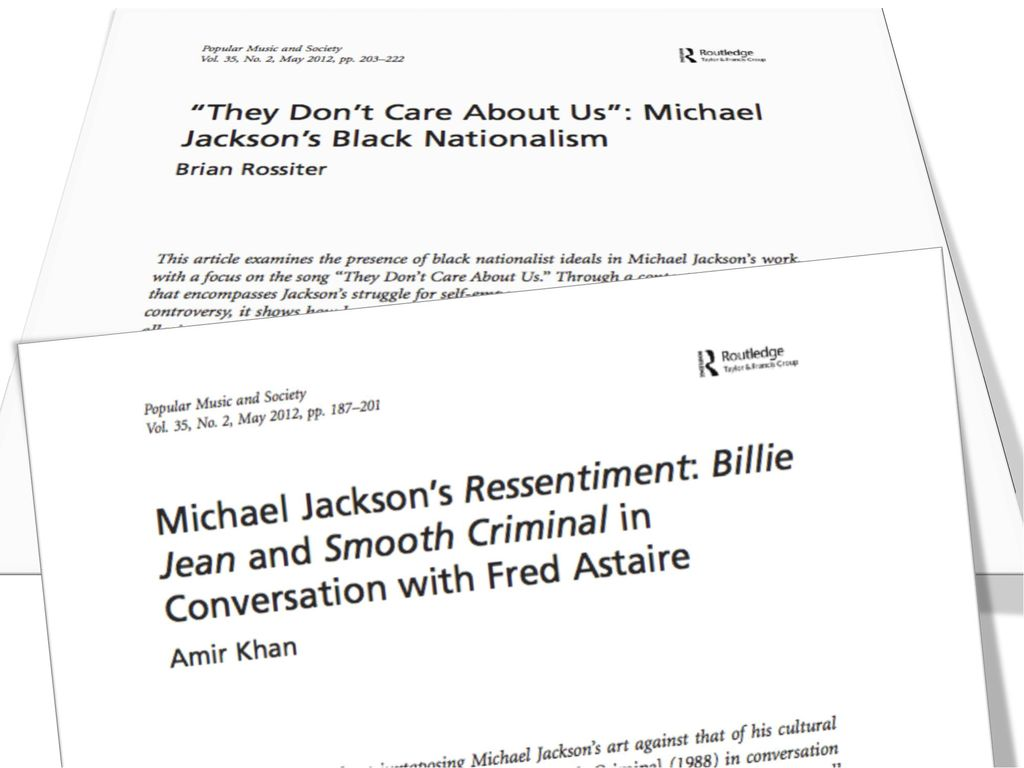 michael jackson research paper