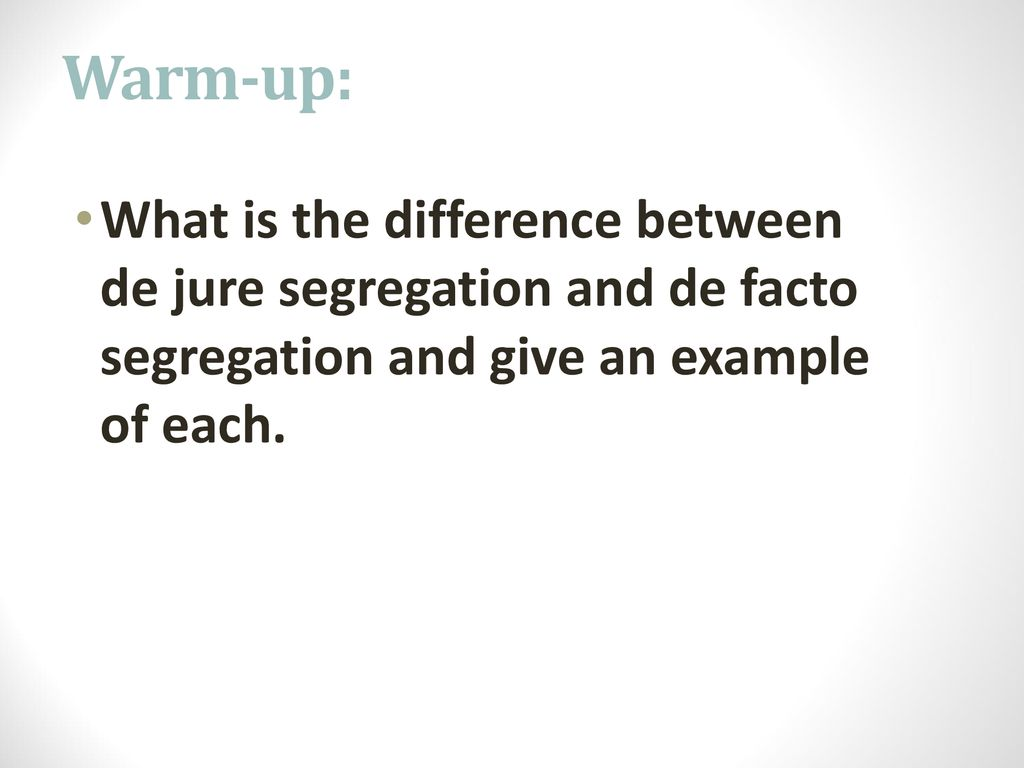 what is de jure