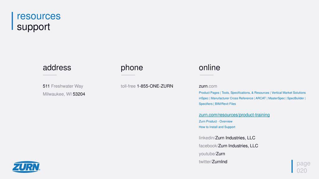 Zurn Tubular Brass - Overview - ppt download