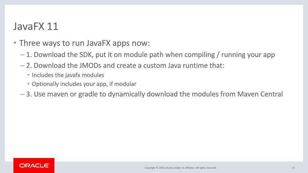 JavaFX Next Kevin Rushforth – Oracle Johan Vos – Gluon