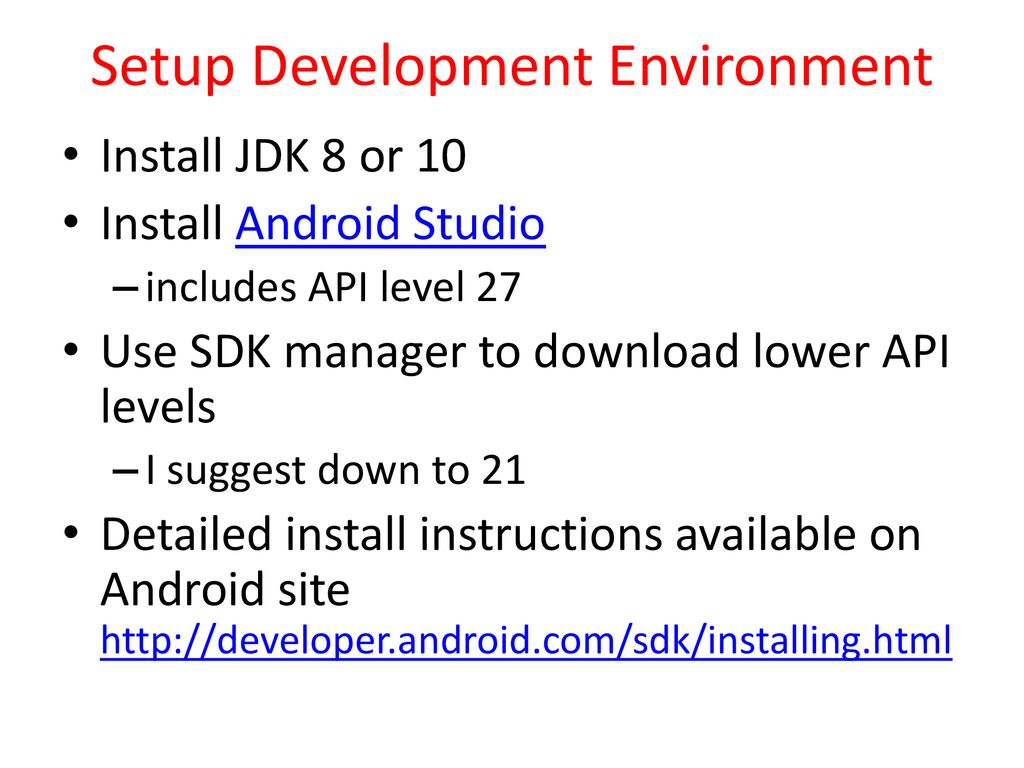 Android Overview and Android Development Environment - ppt download