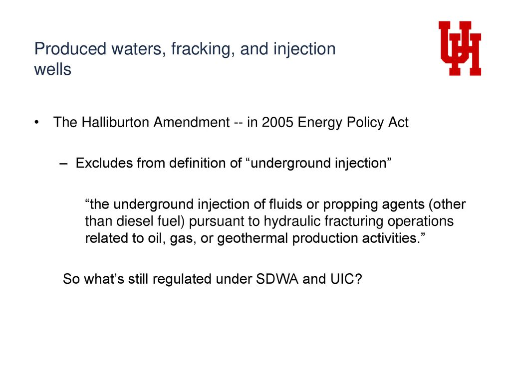 regulating injection and fracking in oil & gas operations - ppt download