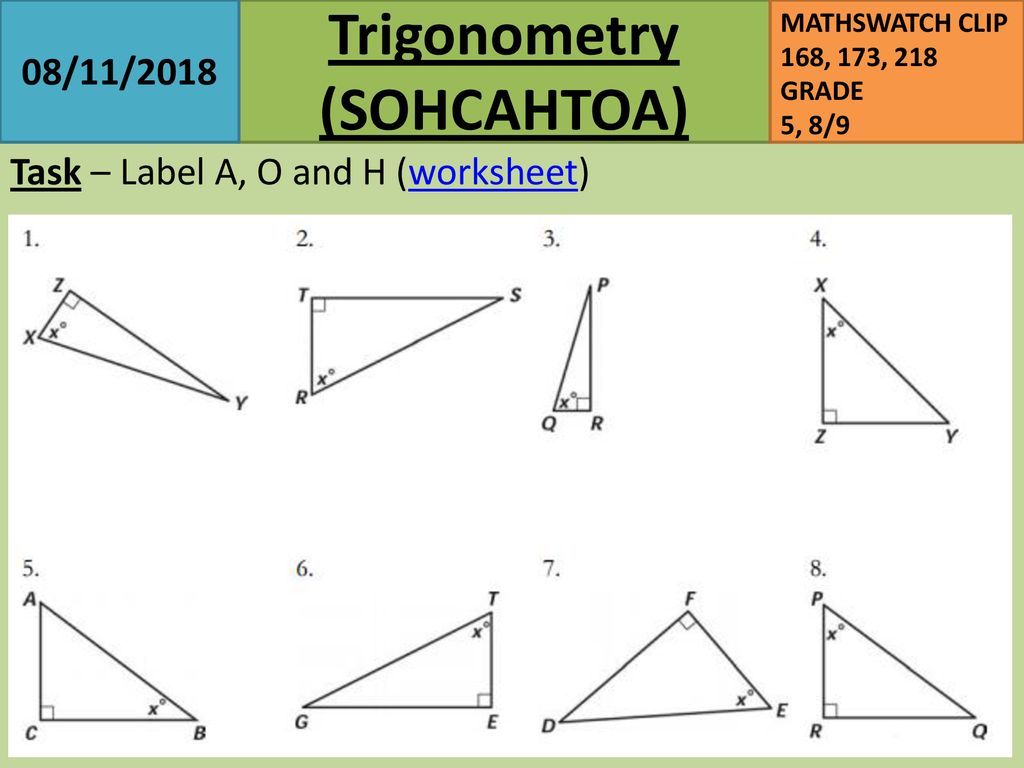 23/23/23 Starter L.O. To be able to - ppt download With Right Triangle Trig Worksheet