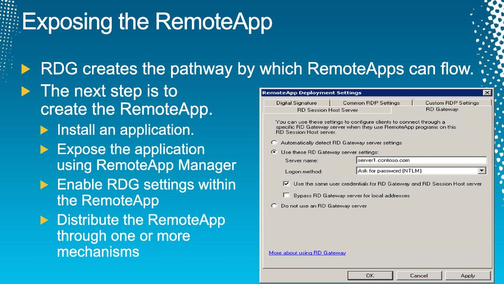 Extending your Applications into the Cloud with RDS - ppt