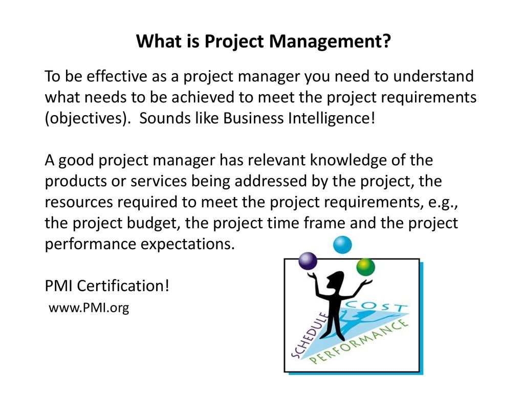 Project Management Presentation By Jim Marlatt Senior Instructor