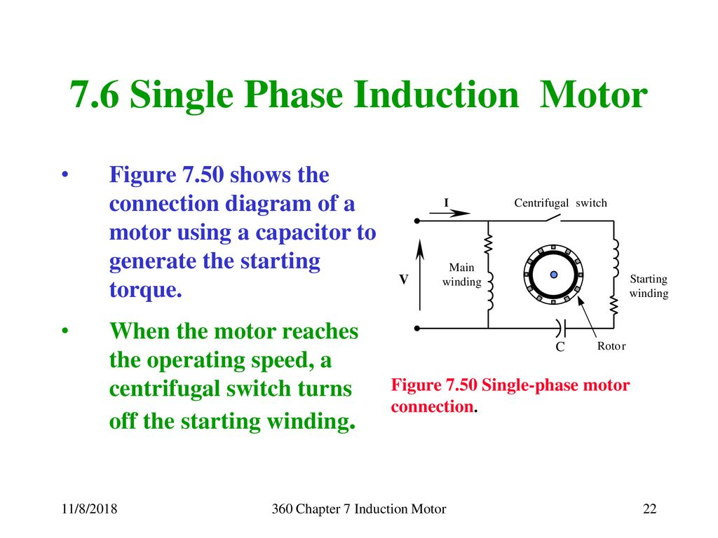 Energy Conversion And Transport George G Karady Keith Holbert Single Phase Motor Winding Diagram 76 Induction