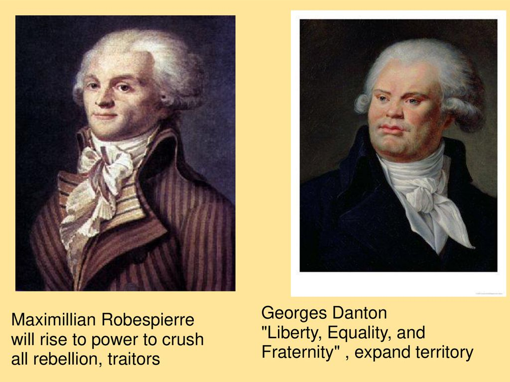 Georges Danton french revolution liberty, equality, fraternity phase ii