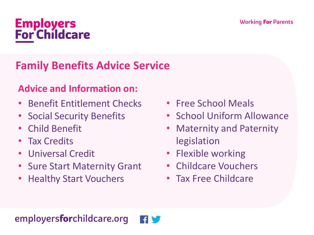 Family Benefits Advice Service Ppt Download