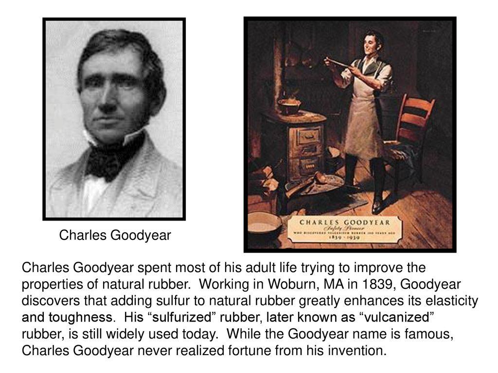 charles goodyear history