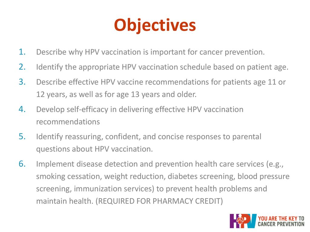 you are the key to hpv cancer prevention - ppt download