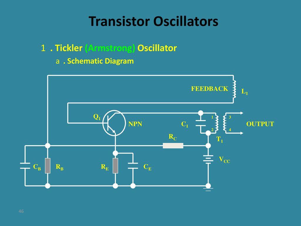 Tubes Transistors And Amplifiers Ppt Download R C Oscillator Circuit Diagram Transistor Oscillators