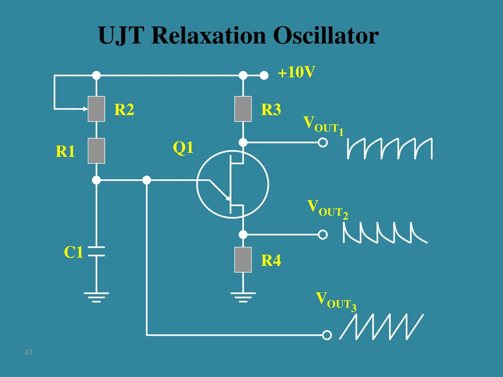 Tubes Transistors And Amplifiers Ppt Download Ujt Relaxation Oscillator