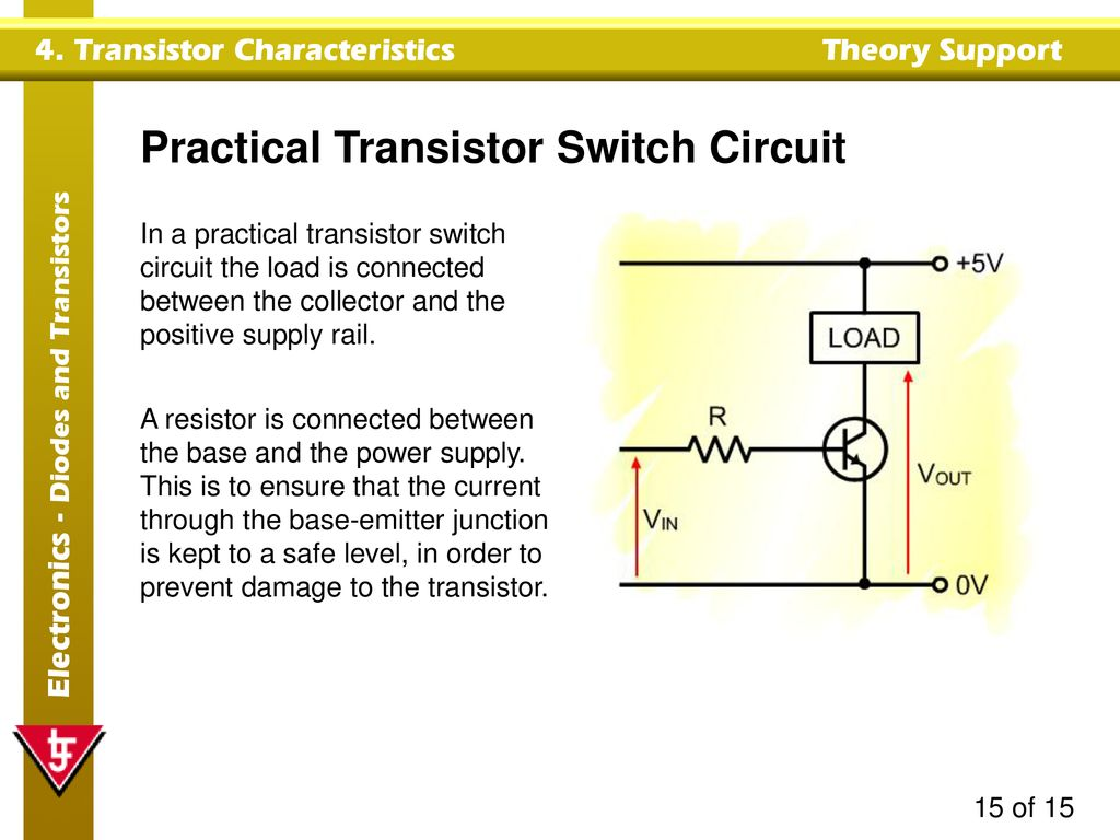 Transistor Switch Circuits Characteristics Ppt Download Practical Circuit
