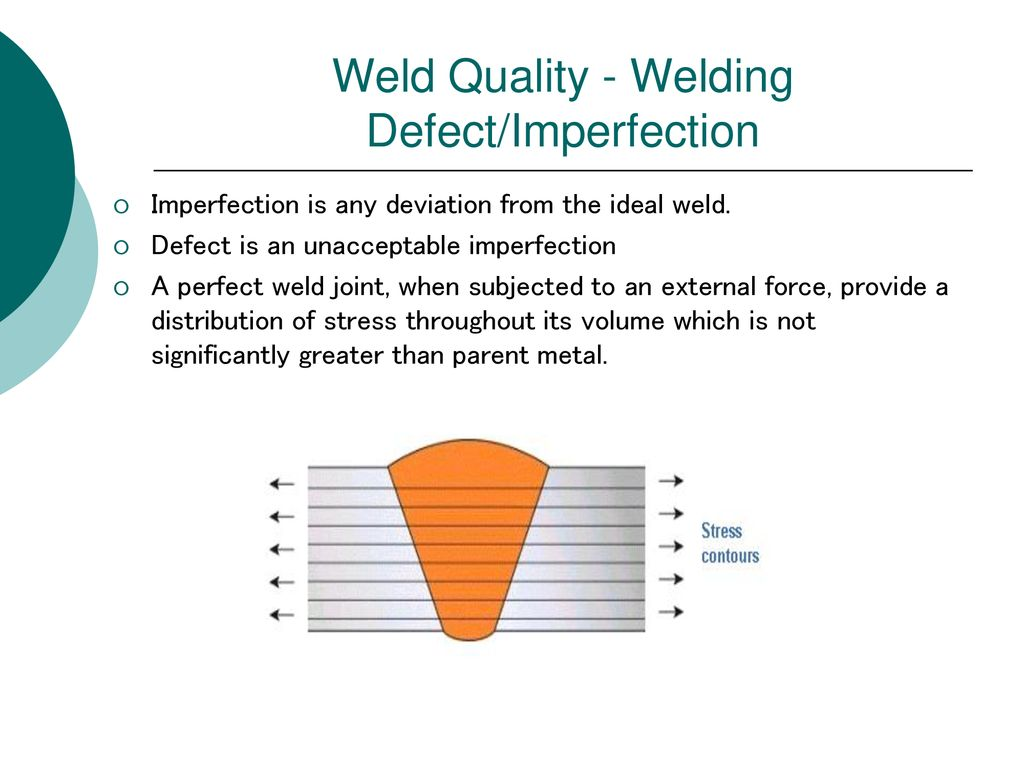 Joining Processes An All Inclusive Term Covering Such As Welding Defects Diagram 57 Weld Quality Defect Imperfection
