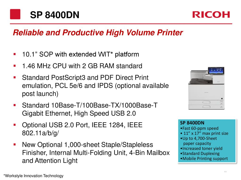 Printer Solutions Solutions for Every Need and Budget August ppt