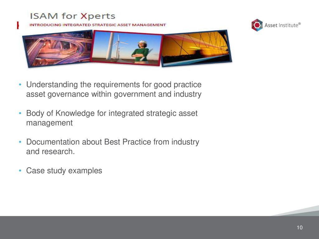 Asset Governance – Integrated Strategic Asset Management - ppt download