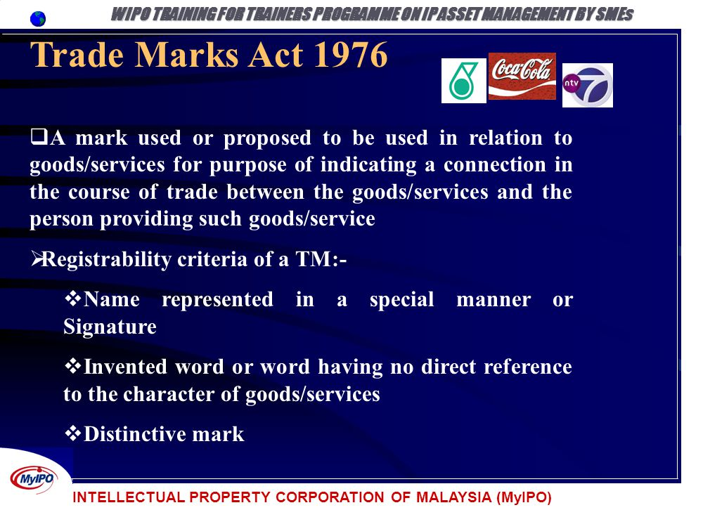 Ip Law And Administration In Malaysia Ppt Download