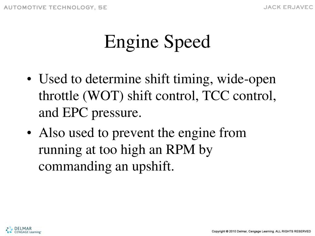 Electronic Automatic Transmissions - ppt download