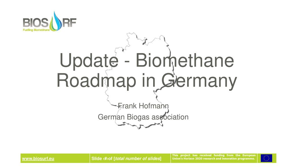 Update - Biomethane Roadmap in Germany - ppt download on