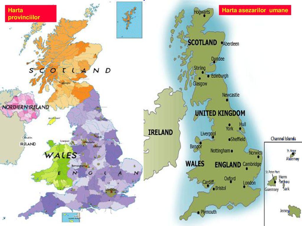 Regatul Marii Britanii Si Irlandei De Nord Caracterizare