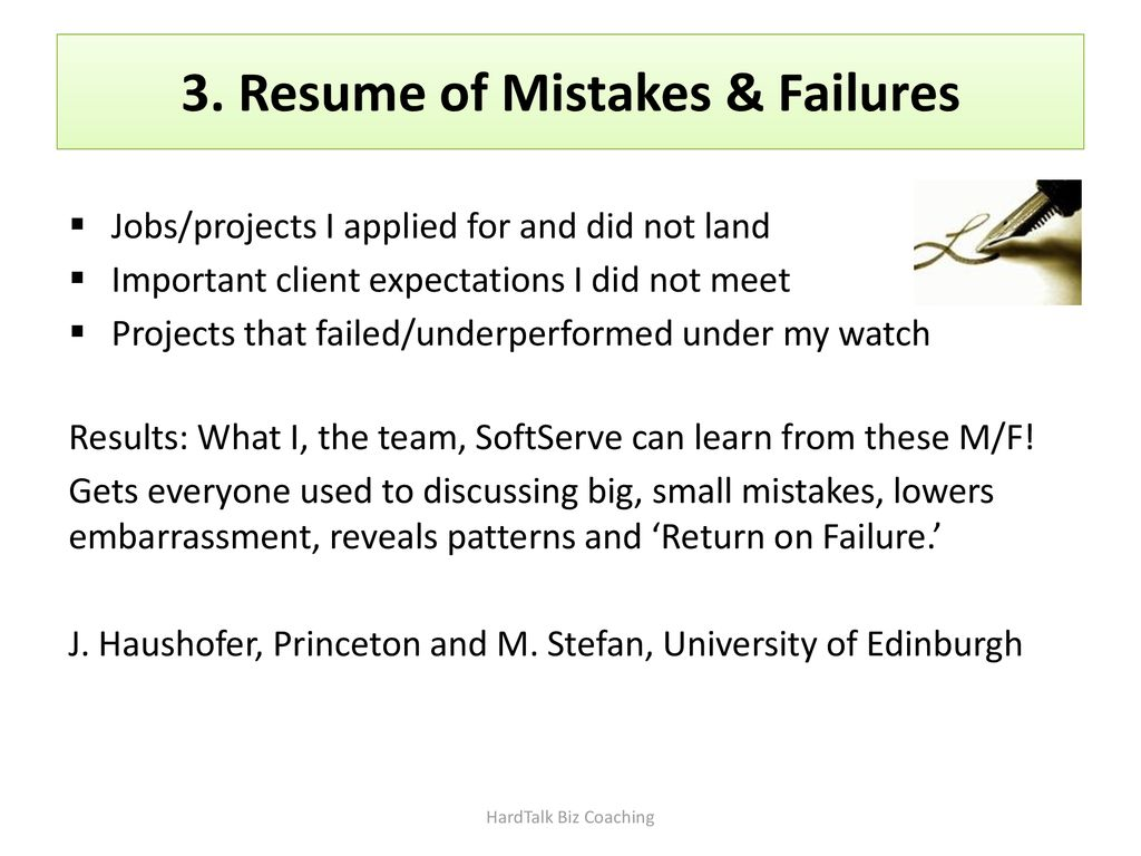 Accountability And How To Really Learn From Mistakes And Failure